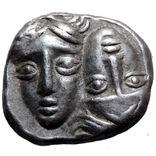 Диобол. Истрия, IV век до н.э. Ag., фото №2