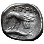 Диобол. Истрия, IV век до н.э. Ag., фото №3