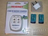 Зарядное устройство для Крон Tenergy TN141 + 2 аккумулятора Крона Tenergy 9V 250 mah