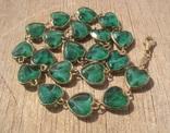 Фирменное серебряное ожерелье, Италия. photo 1