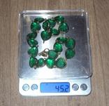 Фирменное серебряное ожерелье, Италия. photo 11