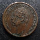 1 эре 1858 Швеция    (П.3.12)~, фото №2