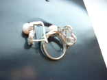 Набор - кольцо и серьги серебро 925 проба Украина, фото №12