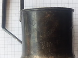 Подстаканник серебряный ,с гравировкой. 104 грамма photo 11