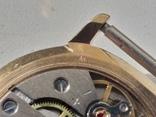 Часы Ракета (знак качества) позолота Au, фото №11
