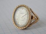 """Часы-перстень """"Чайка 1301"""" позолота AU (на ходу). photo 4"""