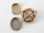 """Часы-перстень """"Чайка 1301"""" позолота AU (на ходу). photo 11"""