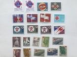 Марки красный крест. 36 марок. 2 блока., фото №3