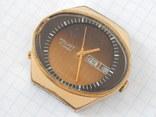 "Часы ""POLJOT 2628H"" USSR позолота AU10 (на ходу), рыбий глаз. photo 3"