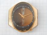 "Часы ""POLJOT 2628H"" USSR позолота AU10 (на ходу), рыбий глаз. photo 4"