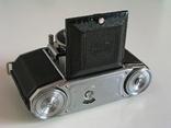 Фотоаппарат Ikonta 522/24,Zeiss Ikon,24х36 мм,Германия,1948 г., фото №4