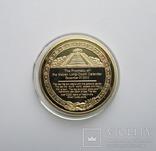 Медаль Календарь Майя photo 2
