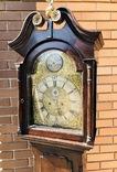 Английские напольные часы конца 18 века, фото №3