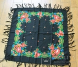 Шерстяной платок №57, фото №3