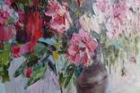 """""""Пионы"""", масляными красками, 70х50 см. Ю. Смаль, фото №11"""