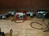 Фотоаппараты зоркий ,разные