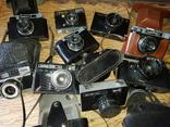 Фотоаппараты ломо,смена и др.