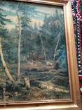 Репродукция Валка леса photo 2