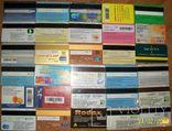Пластиковые карточки - 30  штук., фото №6