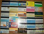 Пластиковые карточки - 30  штук., фото №7