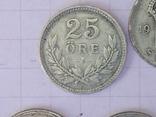 Шведские серебряные монеты, 26 шт. photo 4