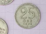 Шведские серебряные монеты, 26 шт. photo 6