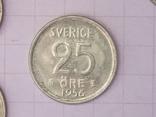 Шведские серебряные монеты, 26 шт. photo 8