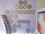 Шведские серебряные монеты, 26 шт. photo 9