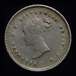 Великобритания 2 пенса 1838 аUnc серебро photo 2