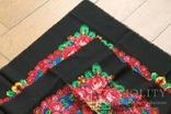 Шерстяной старинный платок №138, фото №8