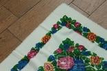 Шерстяной старинный платок №137, photo number 7