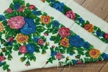 Шерстяной старинный платок №137, photo number 8
