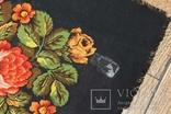 Шерстяной старинный платок №135, фото №8