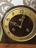 №0005 FM Sonneberg с боем и маятником каминные часы photo 5