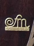 №0005 FM Sonneberg с боем и маятником каминные часы photo 6