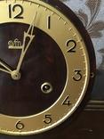 №0005 FM Sonneberg с боем и маятником каминные часы photo 7
