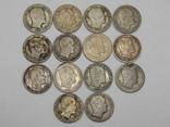 14 монет по 4 скиллинга, Дания photo 2