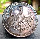 2 Гульдени 1848 р. Франкфурт конституція UNC photo 1