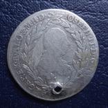 20 крейцеров 1780  Австро-Венгрия серебро     (Я.7.3)~, фото №3