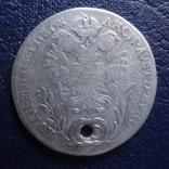 20 крейцеров 1787 Австрия серебро (Я.7.5)~, фото №2