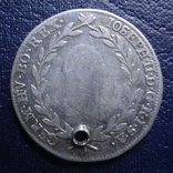 20 крейцеров 1787 Австрия серебро (Я.7.5)~, фото №3
