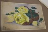 Квітковий натюрморт 29 року з підписом автора Т.Можаровская, фото №9