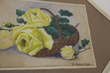 Квітковий натюрморт 29 року з підписом автора Т.Можаровская, фото №10