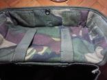 Британская сумка для противогаза DPM, фото №9