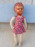 Кукла с прессованных опилок