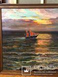 Вечер на море,холст,масло,2003,автор-засл деятель искусств Украины В.Новиковский photo 3
