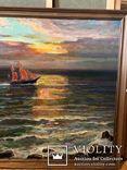 Вечер на море,холст,масло,2003,автор-засл деятель искусств Украины В.Новиковский, фото №5