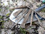 Клад инструмента КК (топор, плешня, зубило, серп, ножи, ножницы, заготовка, гвоздик) photo 2
