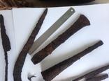 Клад инструмента КК (топор, плешня, зубило, серп, ножи, ножницы, заготовка, гвоздик) photo 3