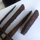 Клад инструмента КК (топор, плешня, зубило, серп, ножи, ножницы, заготовка, гвоздик) photo 9